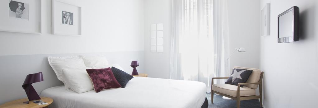 Hotel La Cour Carrée - 波爾多 - 臥室
