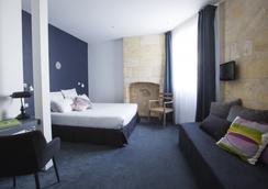 庫爾卡爾酒店 - 波爾多 - 臥室