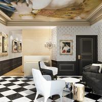 Eiffel Petit Louvre Lobby Lounge