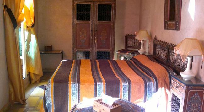 Riad Habib - 馬拉喀什 - 臥室