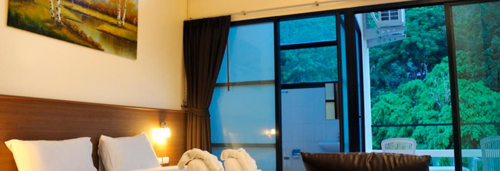 The Wave Patong Boutique Hotel - 巴東 - 臥室