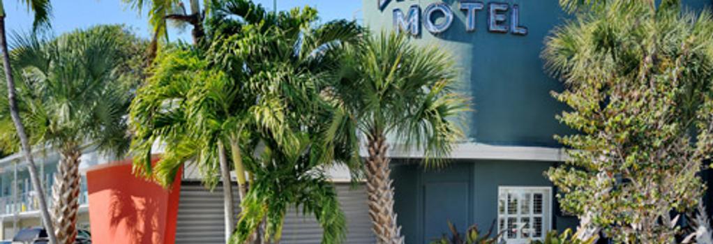 Blue Marlin Motel - 基韋斯特 - 建築