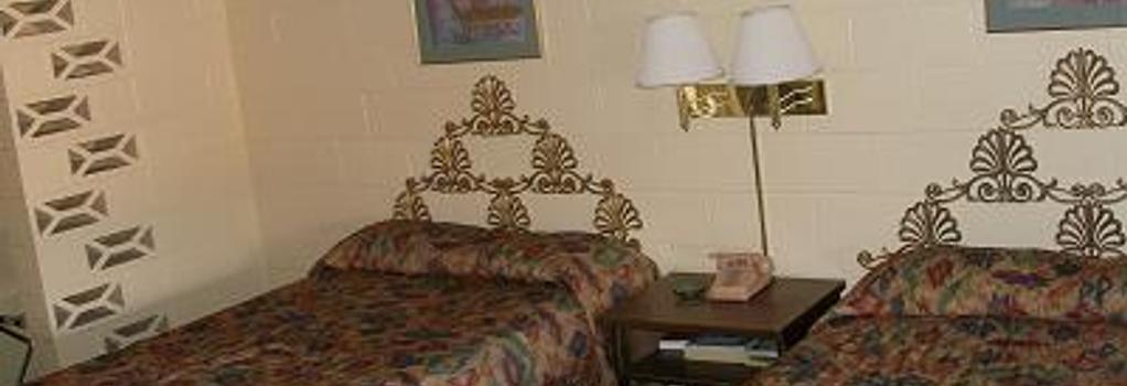 Coral Motel - 埃爾帕索 - 臥室