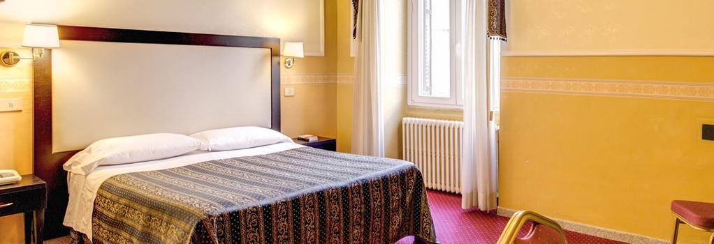 Hotel Continentale - 羅馬 - 臥室