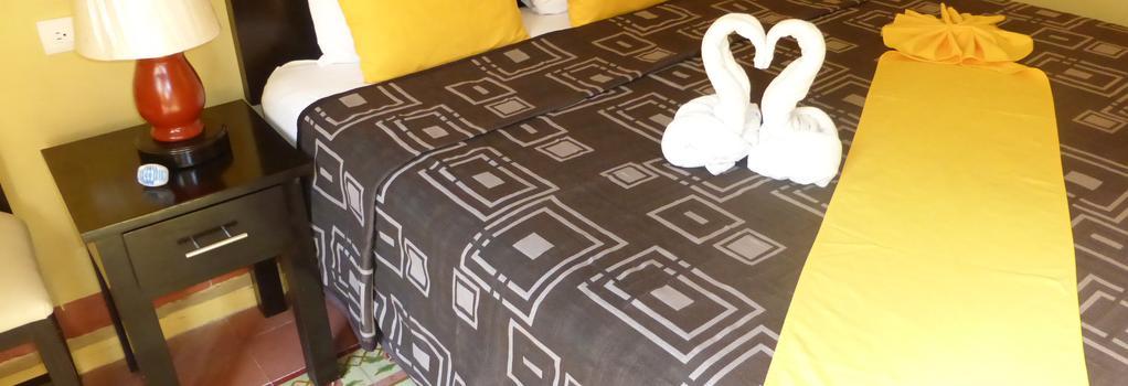 Hotel del Peregrino - 梅里達 - 臥室