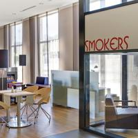 InterCityHotel Leipzig IntercityHotel Leipzig, Germany - Smokers Lounge