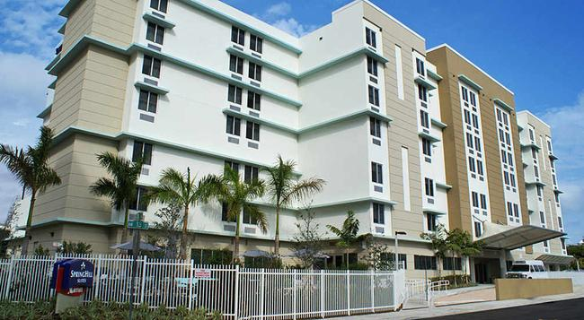 SpringHill Suites by Marriott Miami Airport East-Medical Center - 邁阿密 - 建築