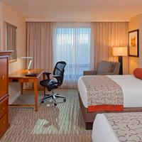 Hilton Tampa Downtown Double Bed Guest Room