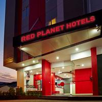 Red Planet Palembang Hotel Front - Evening/Night