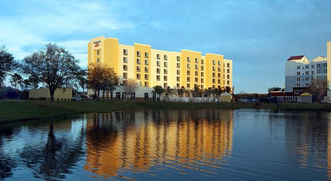 SpringHill Suites by Marriott Orlando Airport - 奧蘭多 - 建築