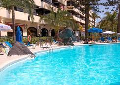 雷伊卡洛斯酒店 - San Bartolome de Tirajana - 游泳池