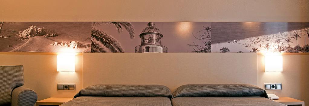 Hotel Bernat II - 卡里拉 - 臥室