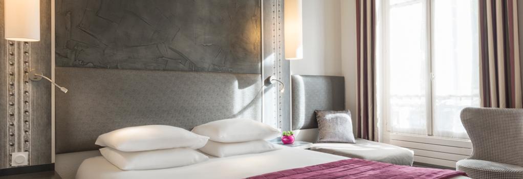Hotel De France Invalides - 巴黎 - 臥室