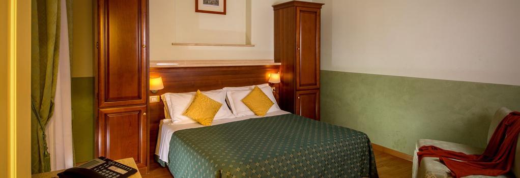 Hotel Centrale - 羅馬 - 臥室