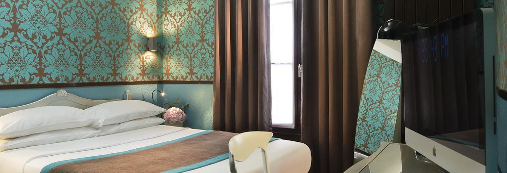 Hotel Design Sorbonne - 巴黎 - 臥室