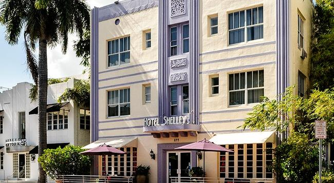 Hotel Shelley - 邁阿密海灘 - 建築