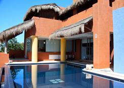 卡薩德洛斯蘇諾斯酒店 - 女人島 - 游泳池