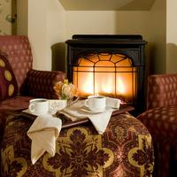 Berry Manor Inn Relax by a cozy fireplace at our Rockland Inn