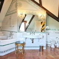 Alchymist Nosticova Palace Deluxe Room Bathroom