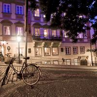 Alchymist Prague Castle Suites Hotel at the night