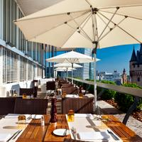 Fleming's Deluxe Hotel Frankfurt City Outdoor Dining