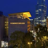 Fleming's Deluxe Hotel Frankfurt City Hotel Front - Evening/Night