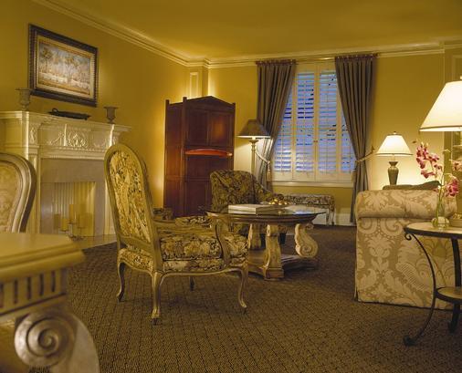 洛杉磯比爾特莫爾千禧國際酒店 - 洛杉磯 - 客廳