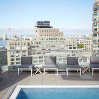 The James New York Rooftop Pool Deck