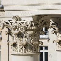 Oceania Hôtel de France Nantes Exterior detail