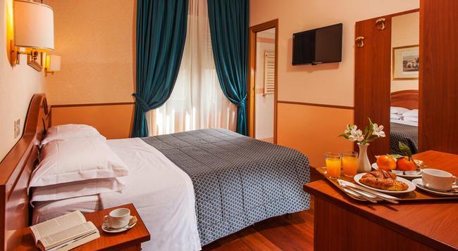 Hotel Piemonte - 羅馬 - 臥室