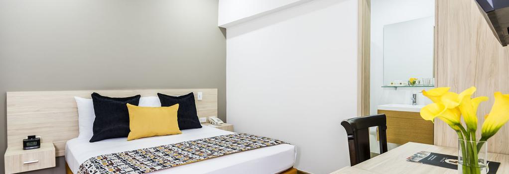 Hotel Asturias Medellin - Medellin - 臥室