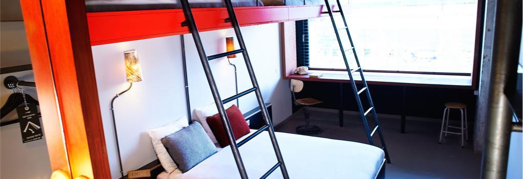 Volkshotel - 阿姆斯特丹 - 臥室