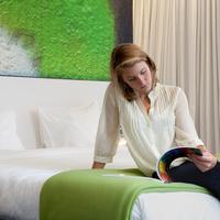 The Pantone Hotel Brussels Guestroom