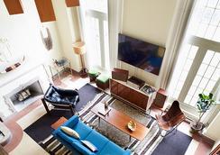 芝加哥寫意酒店 - 芝加哥 - 客廳