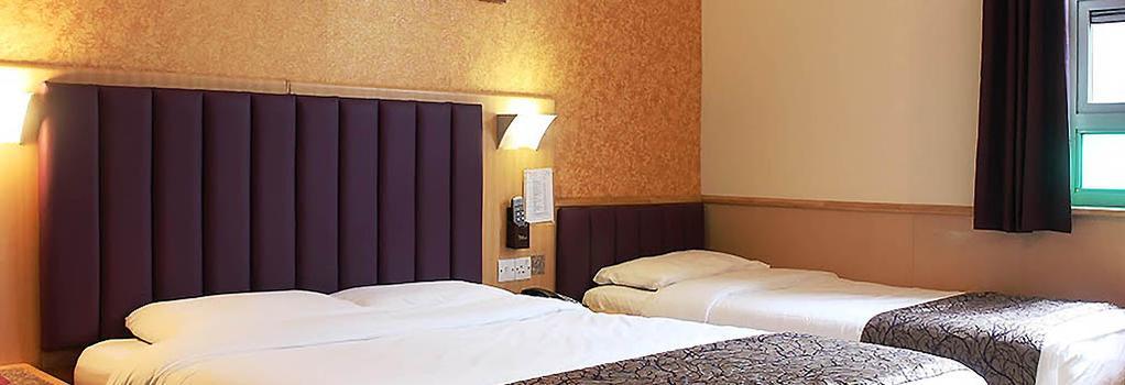 Eurotraveller Hotel Premier Tower Bridge - 倫敦 - 臥室