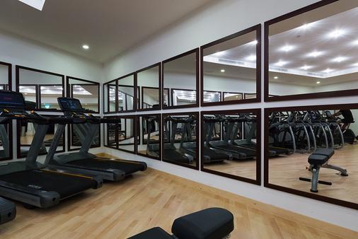 倫敦科技城蒙卡爾姆肖爾迪奇M酒店 - 倫敦 - 健身房