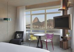 優2里約熱內盧因特西迪酒店 - 里約熱內盧 - 臥室