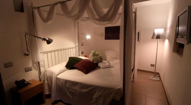 Hotel San Rocco - 貝加莫 - 臥室