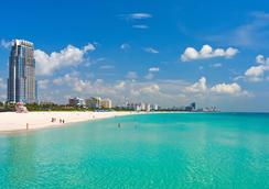 邁阿密海灘聖胡安酒店 - 邁阿密海灘 - 室外景