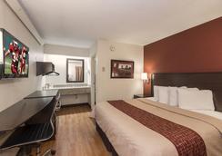 芝加哥奧黑爾國際機場紅頂客棧 - 阿靈頓高地 - 臥室