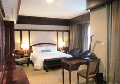 老撾廣場酒店 - 永珍 - 臥室