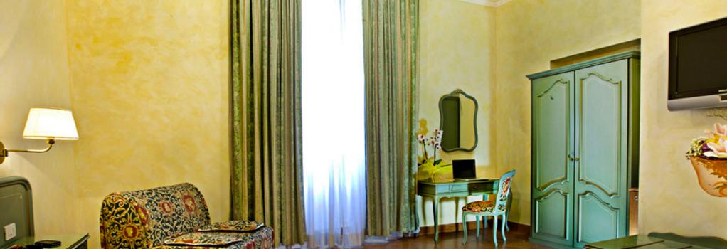 Hotel Augustea - 羅馬 - 臥室