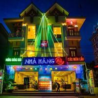 A1 Hotel Dien Bien Hotel Front - Evening/Night