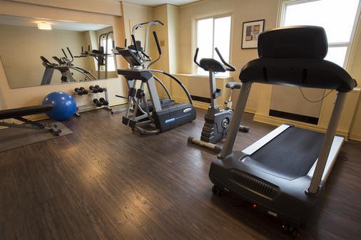 太平洋行政酒店 - 西雅圖 - 健身房