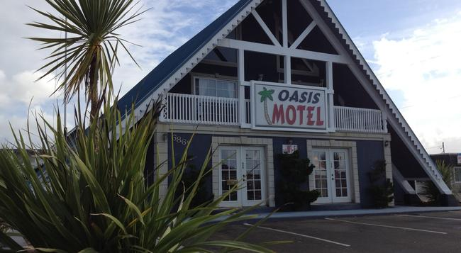 Oasis Motel - Ocean Shores - 建築