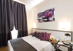 罗马杰梅迪旅馆 - 羅馬 - 臥室