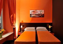 多彩酒店 - 羅馬 - 臥室