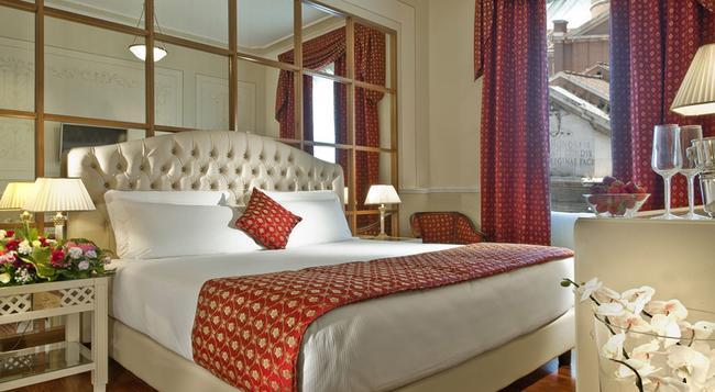 Grand Hotel Ritz - 羅馬 - 臥室