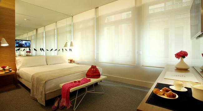 Park Hotel Barcelona - 巴塞羅那 - 臥室