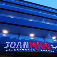 Hotel Joan Miró Museum Hotel Front - Evening/Night